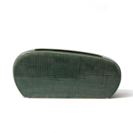 Keramikvase 'Remus', L 6 cm, B 31 cm, H 13 cm