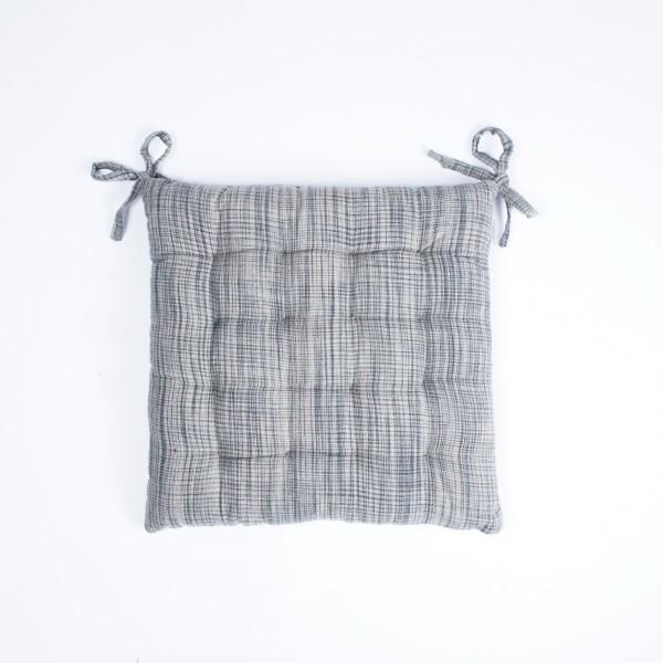 """Kissen """"Oak"""", grau/beige, L 40 cm, B 40 cm"""