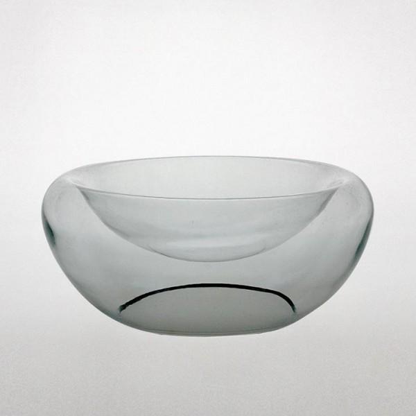 Schale, transparent, H 12 cm, Ø 29 cm