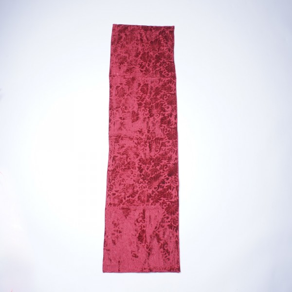 "Tischläufer ""Flowers"", rot, L 150 cm, B 40 cm"