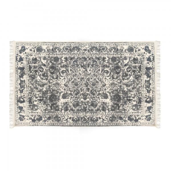 Teppich 'Palaita', schwarz, weiß, T 140 cm, B 200 cm