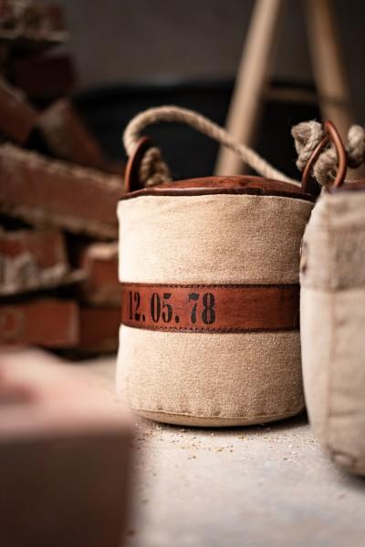 Türstopper, rund, braun, Ø 19 cm, H 20 cm