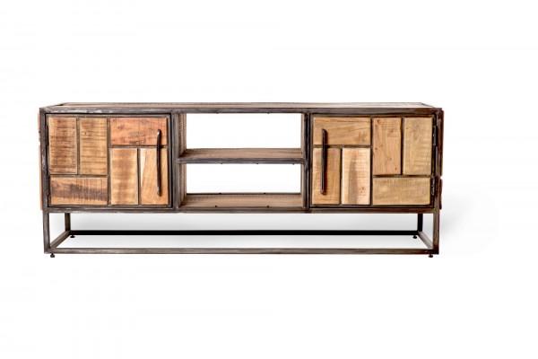 TV-Board 'Brendt', braun, T 40 cm, B 135 cm, H 50 cm