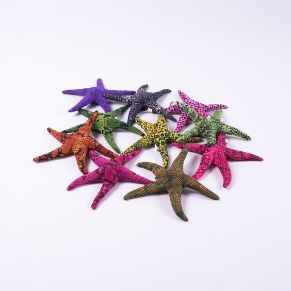 Sandtier 'Seestern' L, multicolor, T 17 cm