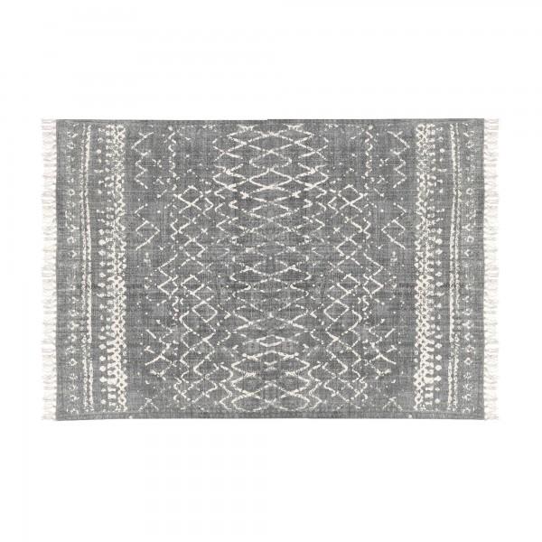 Teppich 'Umar', braun, weiß, T 140 cm, B 200 cm
