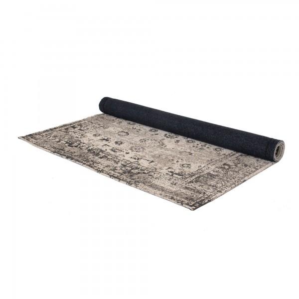 Teppich 'Priya', schwarz, weiß, T 140 cm, B 200 cm