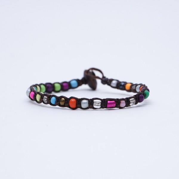"""Armband """"Cavin"""", handgefertigt, multicolor"""