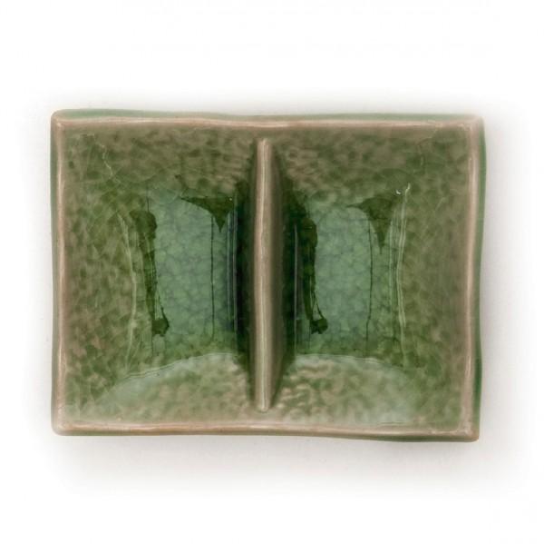 """Schüssel """"Twin"""", grün, L 7 cm, B 9 cm"""