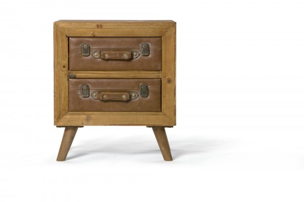 """Kommode """"Exeter"""", mit 2 Schubladen, L 35 cm, B 50 cm, H 58 cm"""