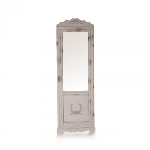 "Stand-Spiegel ""Nancy"", antik-grau, B 55 cm, H 170 cm"