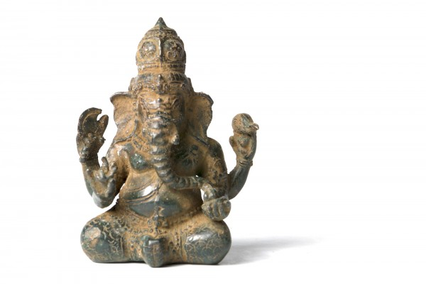 Ganesha, aus Bronze, H 13 cm