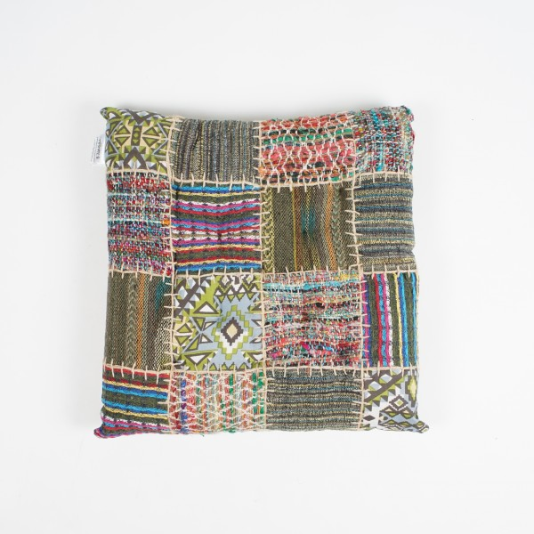 "Kissen ""Patchwork"", multicolor, L 40 cm, B 40 cm"