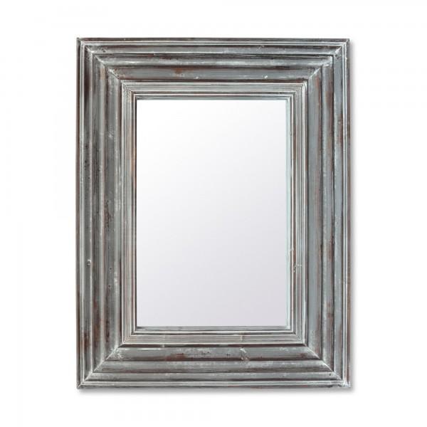 Spiegel im Rahmen 'Schleswig', grau, T 5,8 cm, B 76 cm, H 99 cm