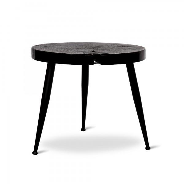 Tisch 'Mason', schwarz, Ø 48 cm, H 41,5 cm