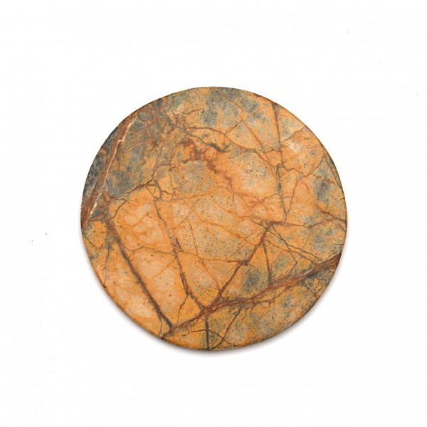 Schneidebrett 'Tejas', aus Marmor, Ø 18-20 cm