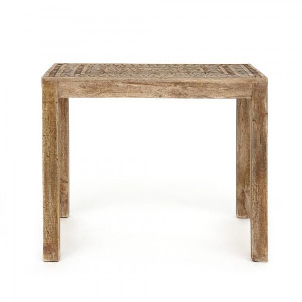 Tisch 'Simbo' L, natur, T 43 cm, B 54 cm, H 46 cm