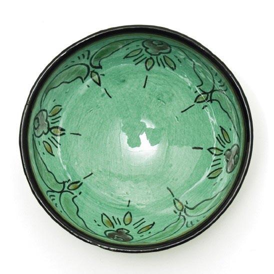 Safischale, grün, H 7 cm, Ø 15,5 cm