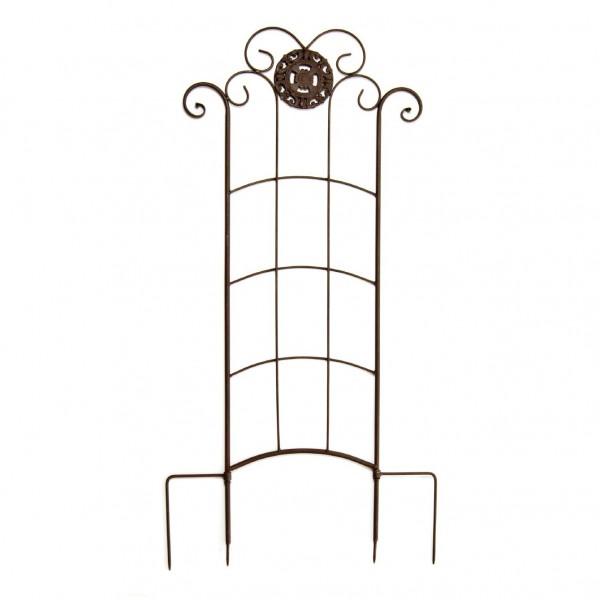 Rankgitter 'Celine', antik-braun, H 170 cm, B 55 cm