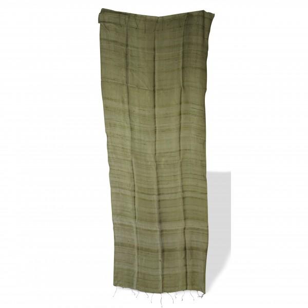 Seidenschal, oliv, L 70 cm, B 170 cm