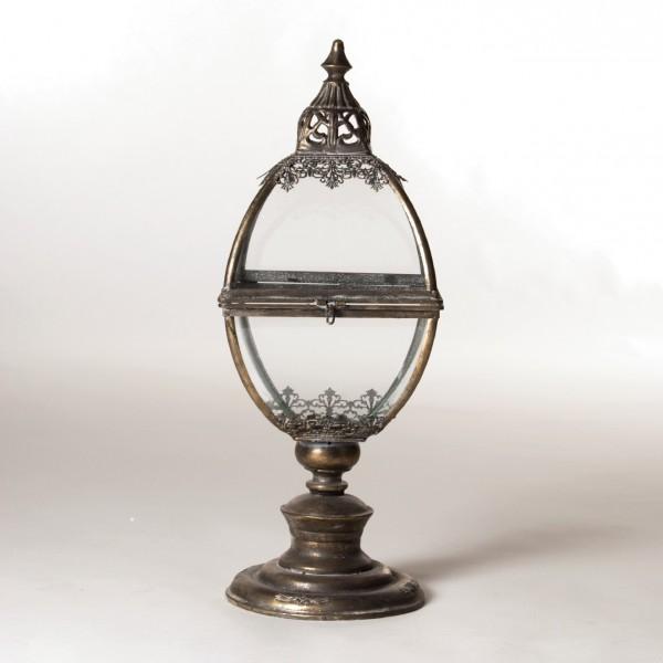 """Laterne """"Oldham"""" aus Metall, L 26 cm, B 26 cm, H 67 cm"""