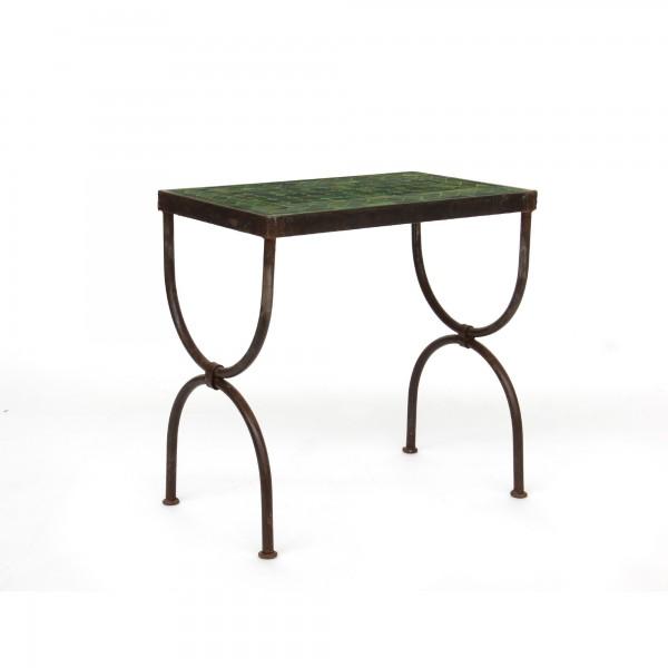 rechteckiger Tisch / Beistellstisch S, oliv, T 40 cm, B 30 cm, H 36 cm