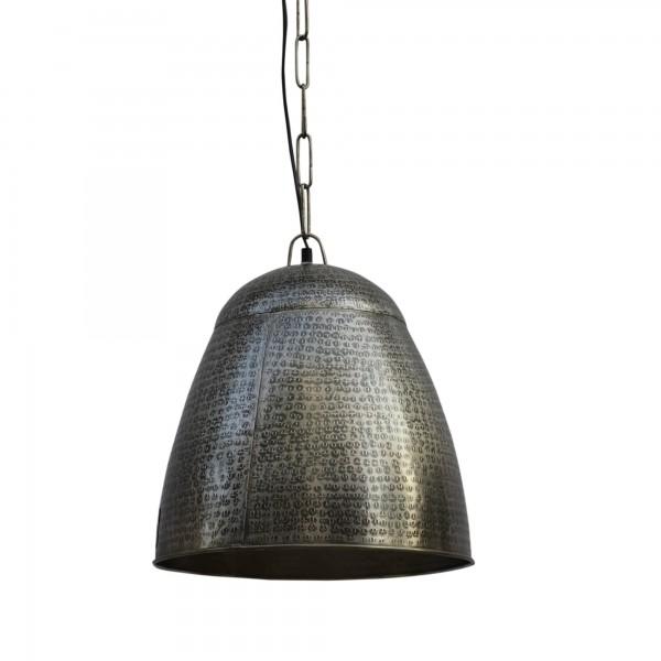 Lampe 'Punch', grau, Ø 36 cm, H 39 cm