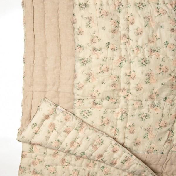 """Steppdecke """"Baga"""", hellgrün/beige, L 220 cm, B 240 cm"""