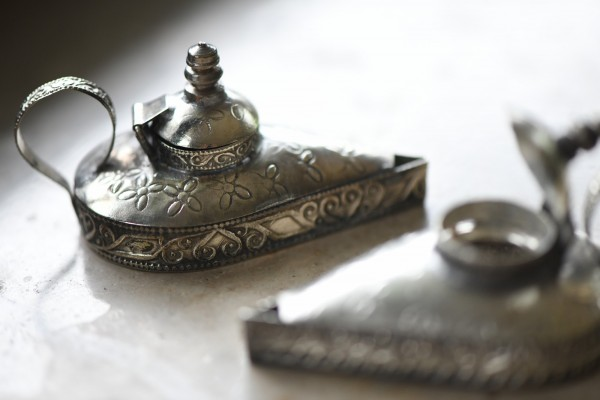 Pillendose/Schmuckdose 'Aladin', handgefertigt