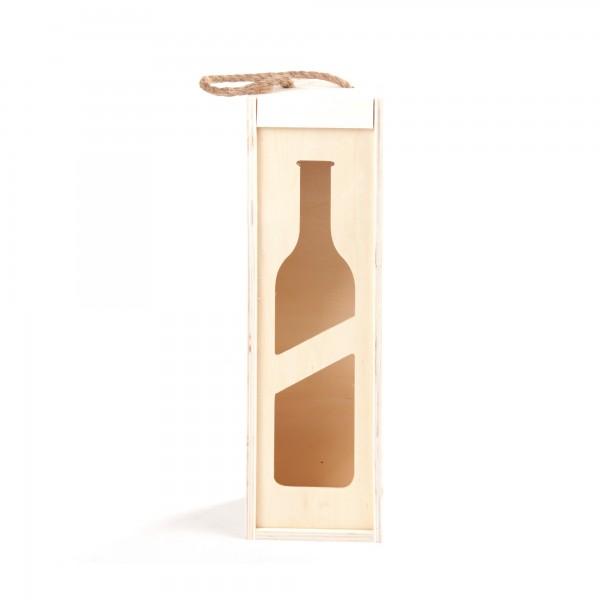 """Weinflaschenbox """"Ailin"""", für 1 Flasche, L 35 cm, B 10 cm, H 10 cm"""
