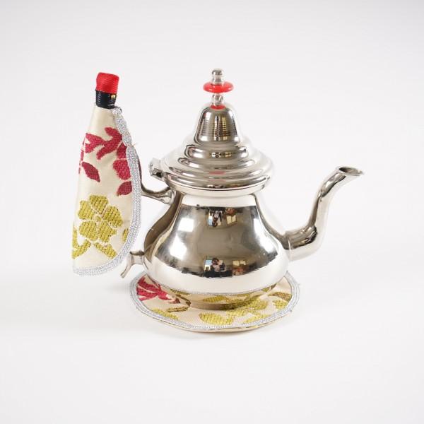 """Teekannenhalter """"Teemännchen"""", verschiedene Farben und Muster"""
