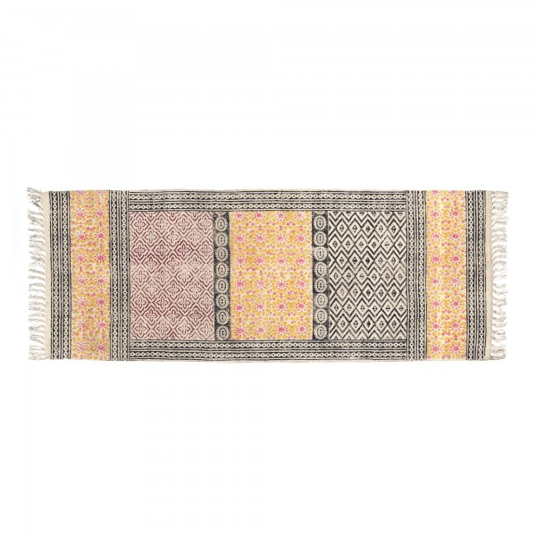 Läufer 'Puttur', multicolor, T 60 cm, B 180 cm