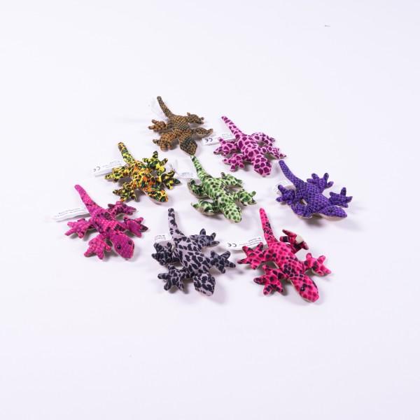 """Sandtier """"Gecko"""", klein, multicolor, L 11 cm"""