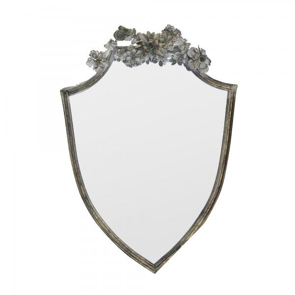 Spiegel 'Triveux', metall antik, T 6 cm, B 49 cm, H 63,5 cm