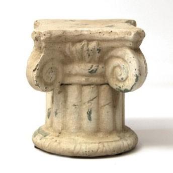 """Blumenpodest """"Rom M"""", aus Keramik, L 20 cm, B 20 cm, H 22 cm"""