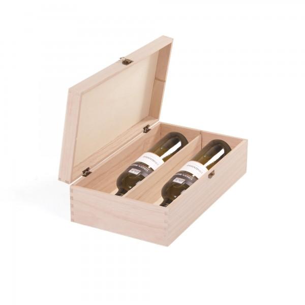 """Weinflaschenbox """"Changsha"""", für 2 Flaschen, L 35 cm, B 20 cm, H 10 cm"""