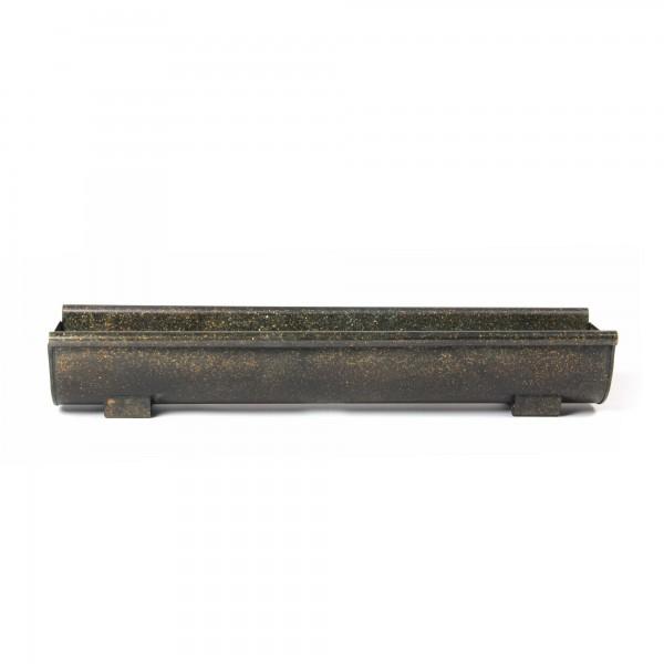 Pflanzkasten, Größe XL, aus metall, L 16 cm, B 60 cm, H 10 cm