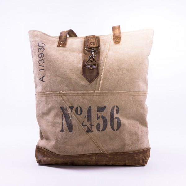 """Umhängetasche """"N456"""", beige/braun, B 43 cm, H 43 cm"""