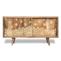 Sideboard 'Crudette', natur, T 45 cm, B 160 cm, H 85 cm