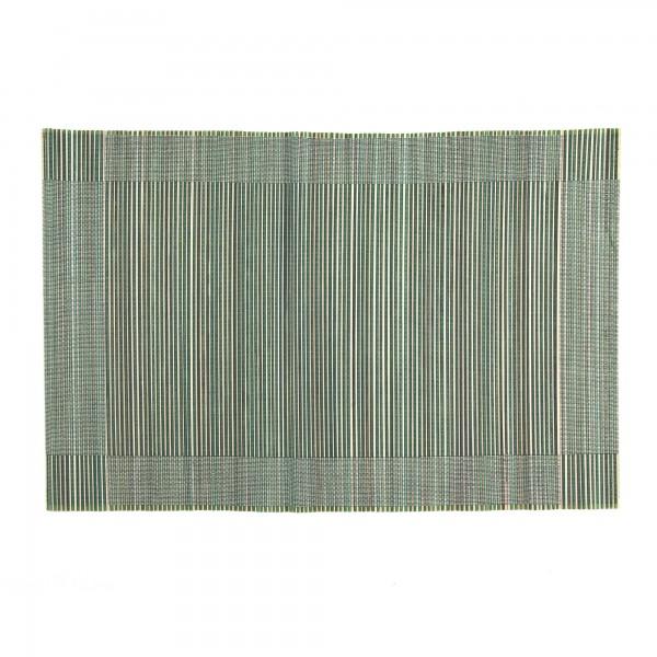 Tischset aus Bambus, grün, L 33 cm, B 48 cm