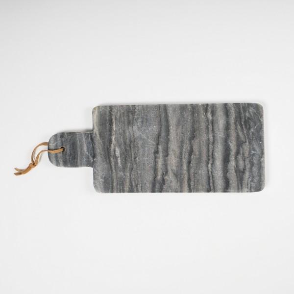 Schneidebrett, aus Marmor, L 11 cm, B 16 cm, H 1,2 cm