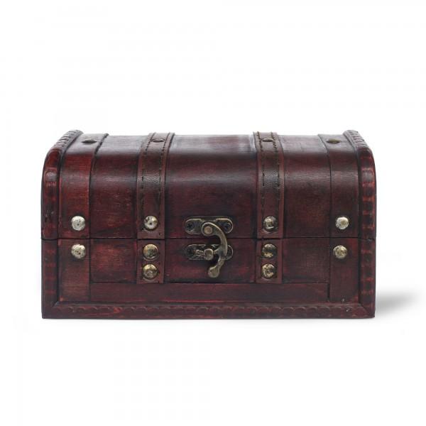 Kofferbox, braun, T 19 cm, B 10 cm, H 10 cm