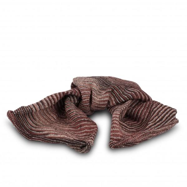 "Schal ""Magic Scarf"", grau/rosa, L 65 cm, B 20 cm"
