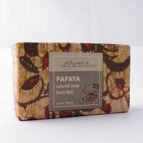 """Naturseife """"Papaya"""", 100 g, aus 100% natürlichen Inhaltsstoffen"""