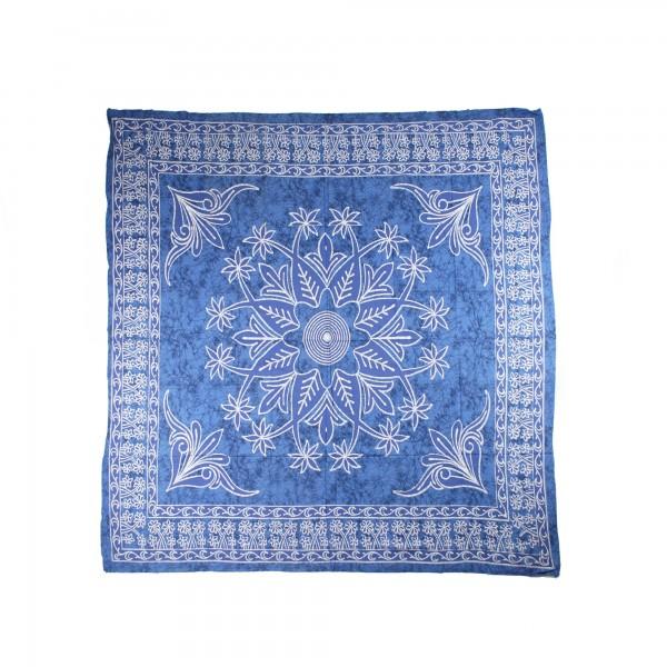 """Tagesdecke """"Hanima"""", aus 100% Baumwolle, blau, L 260 cm, B 220 cm"""