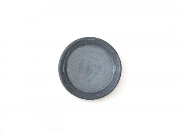 Untersetzer M, graubraun, Ø 23 cm, H 1 cm
