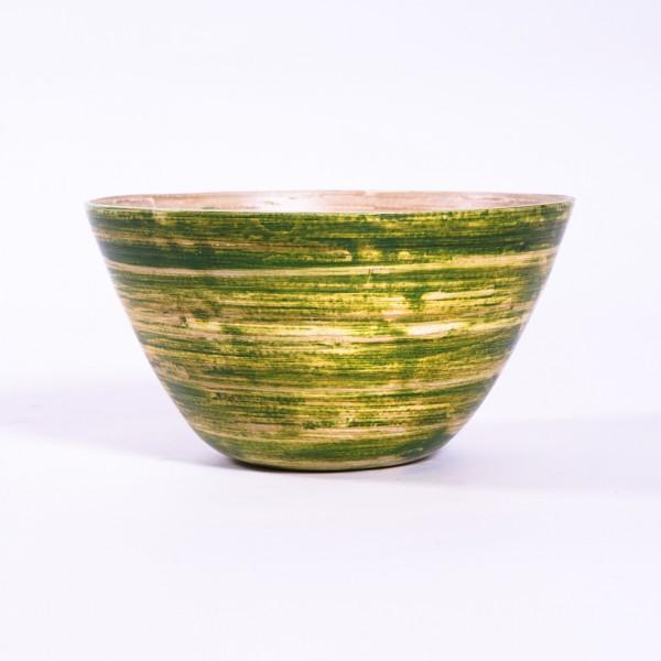 Bambusschale, grün, Ø 24 cm, H 13 cm