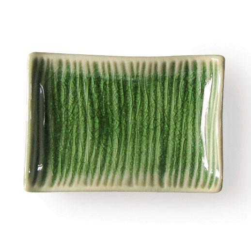 """Schüssel """"Wellen"""", grün, L 6 cm, B 9 cm"""