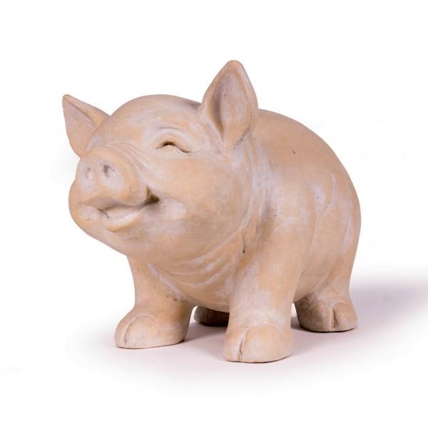 Sparschwein, aus Ton, B 47 cm, H 32 cm