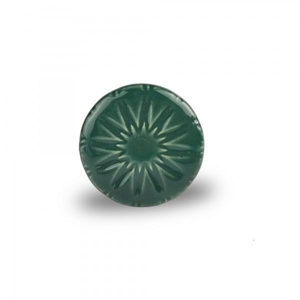 Türknauf rund, grün, Ø 4 cm