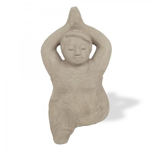 Figur 'Yoga-Dame',L 60 cm, B 26 cm, H 45 cm